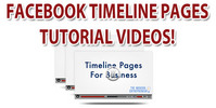 Facebook Fan Page TimeLine Videos Tutorial