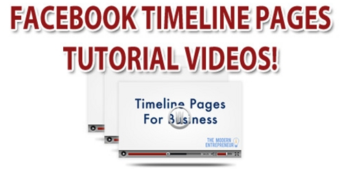 Product picture Facebook Fan Page TimeLine Videos Tutorial